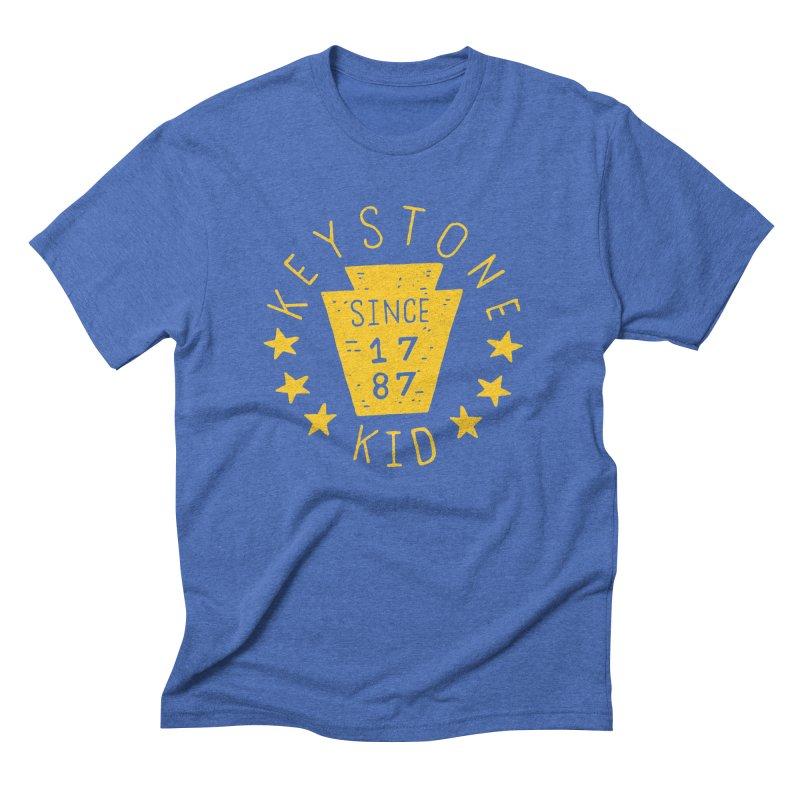 Keystone Kid Men's Triblend T-shirt by Rupertbeard