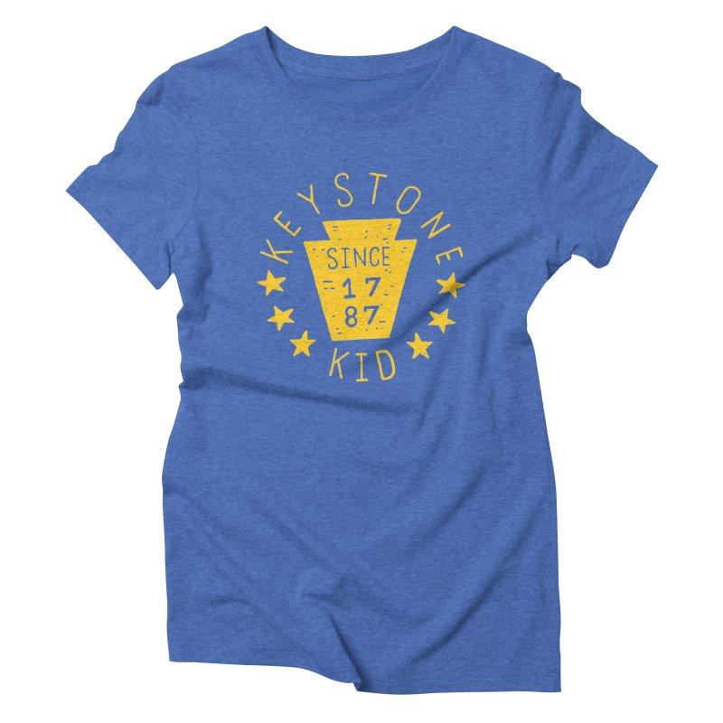 Keystone Kid Women's Triblend T-shirt by Rupertbeard
