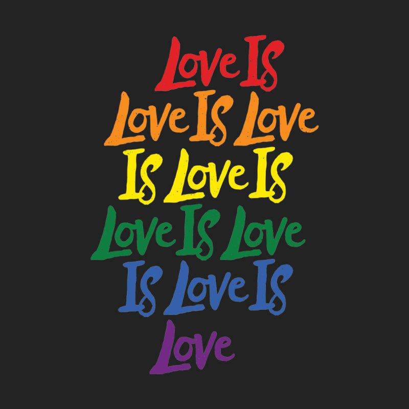 Love is Love is Love is Love is Love is Love is Love is Love Men's T-Shirt by Rupertbeard