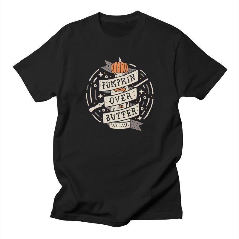 Pumpkin Over Butter Men's T-shirt by Rupertbeard