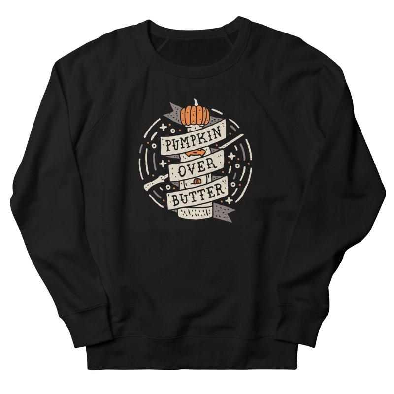 Pumpkin Over Butter Men's Sweatshirt by Rupertbeard