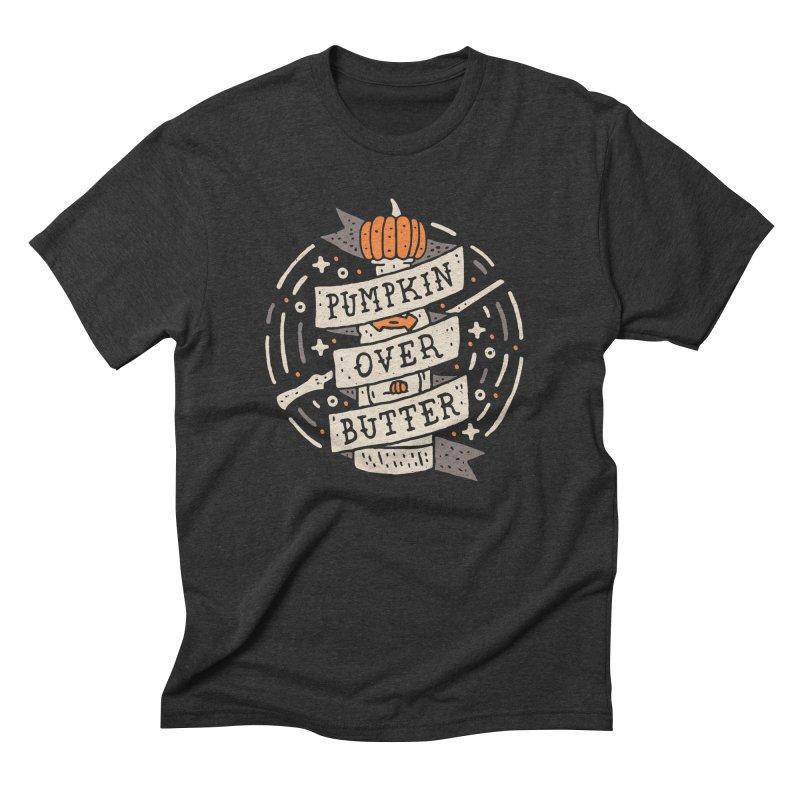 Pumpkin Over Butter Men's Triblend T-shirt by Rupertbeard