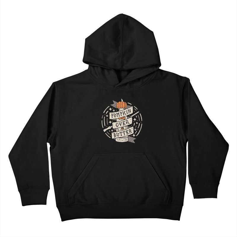 Pumpkin Over Butter Kids Pullover Hoody by Rupertbeard