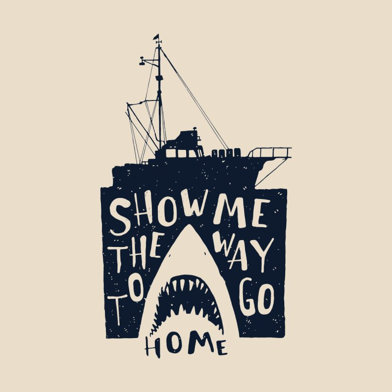 Show Me The Way To Go Home Kids Pullover Hoody by Rupertbeard