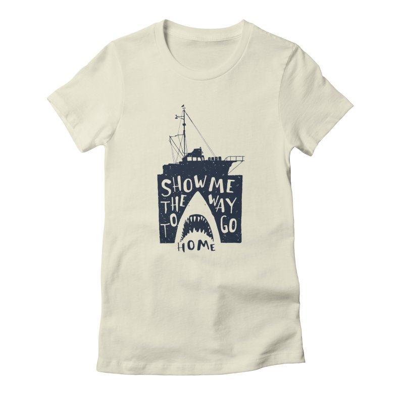 Show Me The Way To Go Home Women's T-Shirt by Rupertbeard