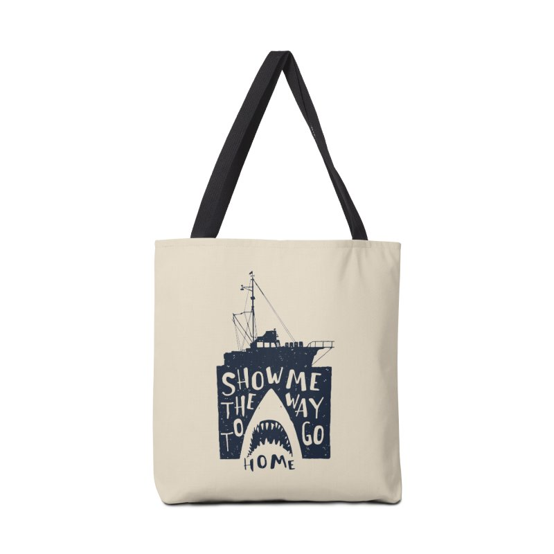 Show Me The Way To Go Home Accessories Bag by Rupertbeard