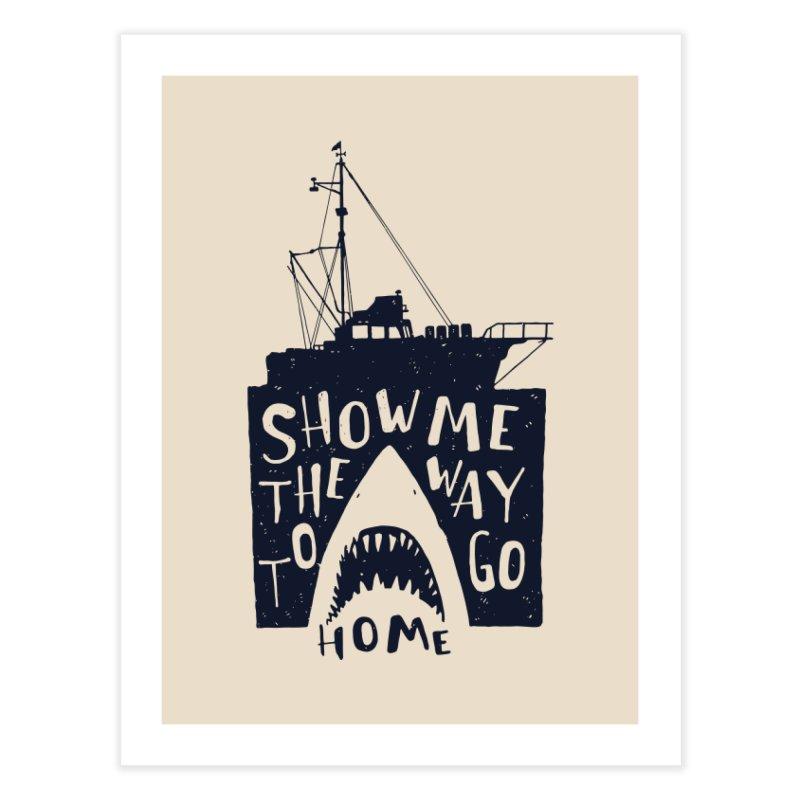 Show Me The Way To Go Home Home Fine Art Print by Rupertbeard