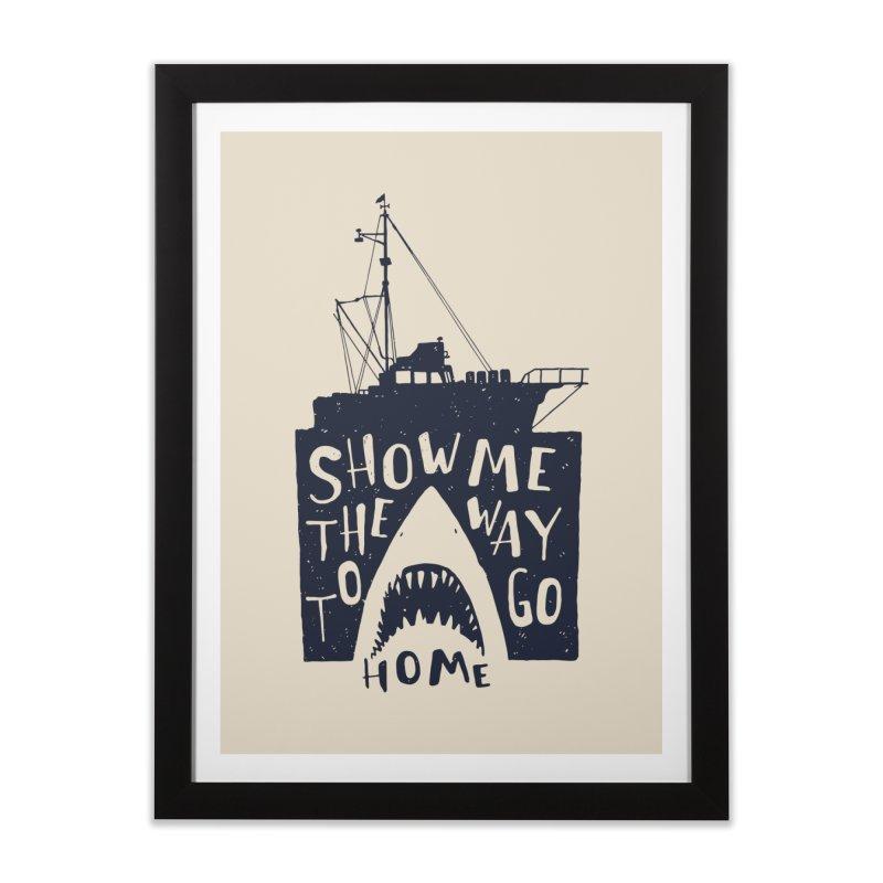 Show Me The Way To Go Home Home Framed Fine Art Print by Rupertbeard