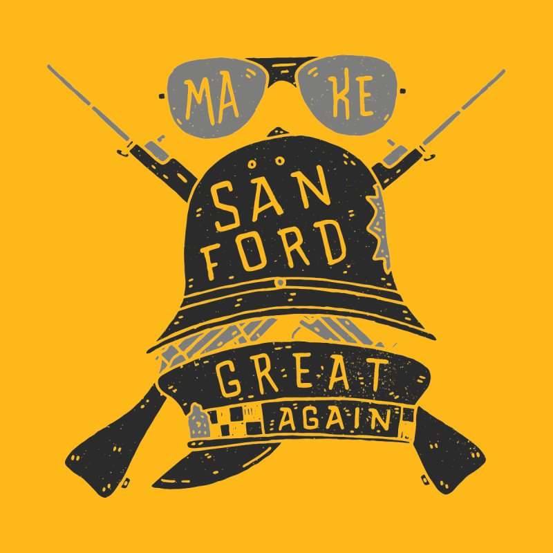 Make Sanford Great Again Home Fine Art Print by Rupertbeard