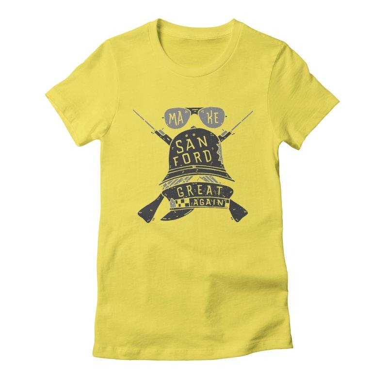 Make Sanford Great Again Women's T-Shirt by Rupertbeard
