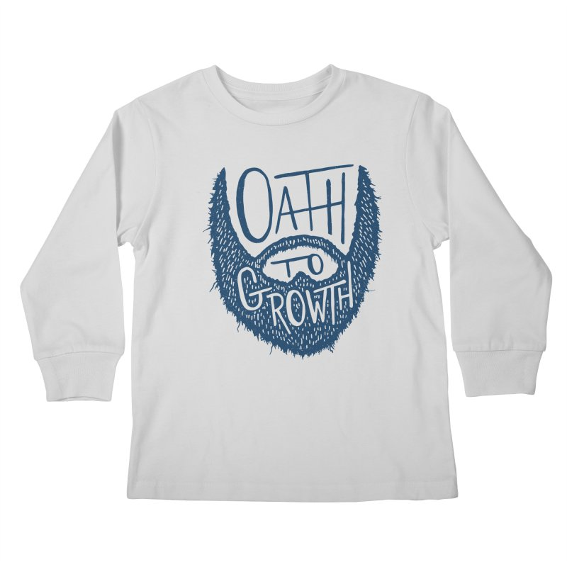 Oath To Growth Kids Longsleeve T-Shirt by Rupertbeard