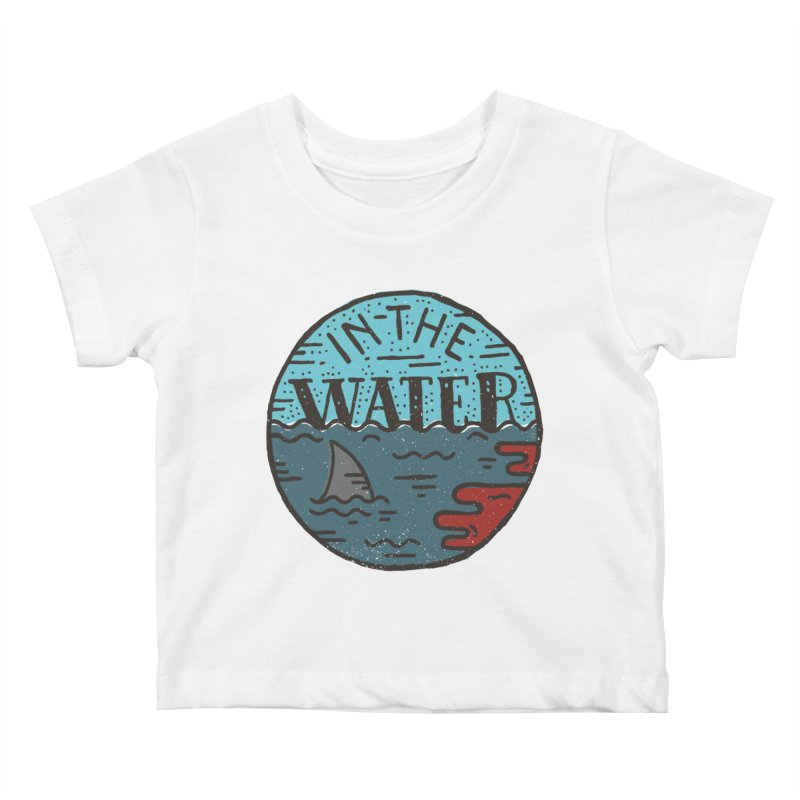 In The Water Kids Baby T-Shirt by Rupertbeard