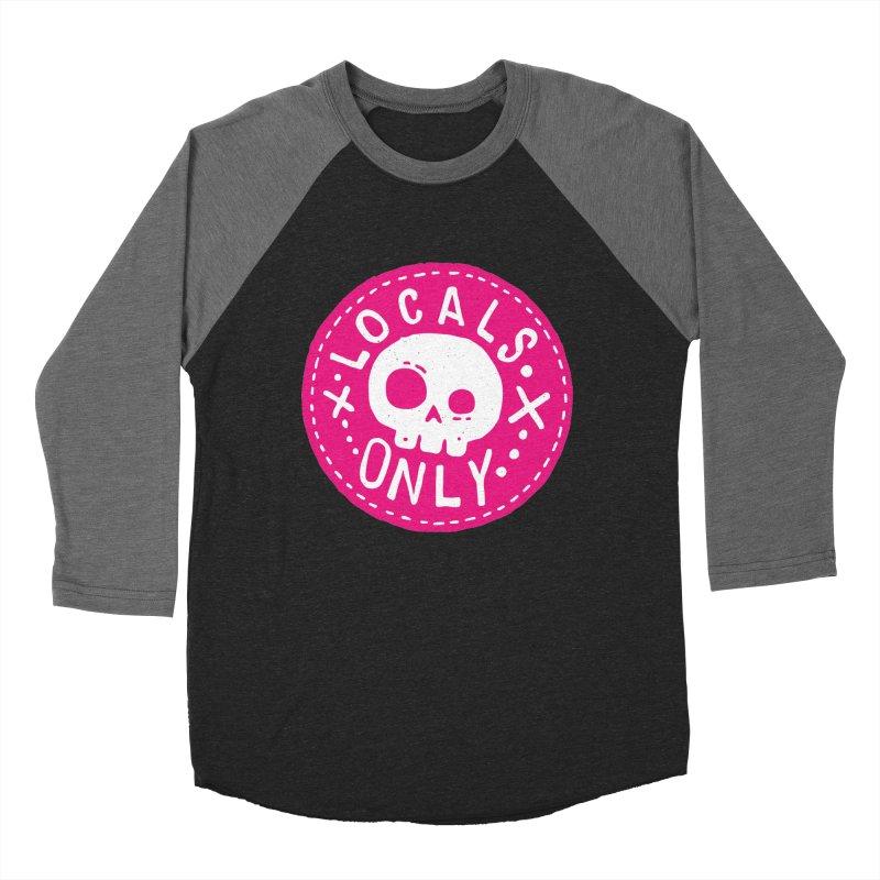 Locals Only Women's Baseball Triblend T-Shirt by Rupertbeard