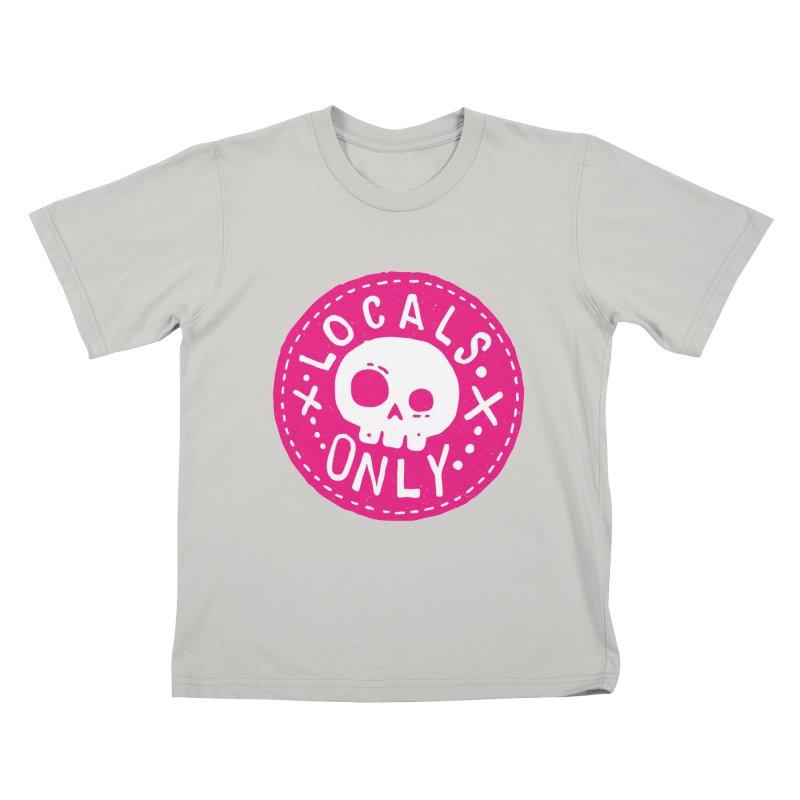 Locals Only Kids T-Shirt by Rupertbeard