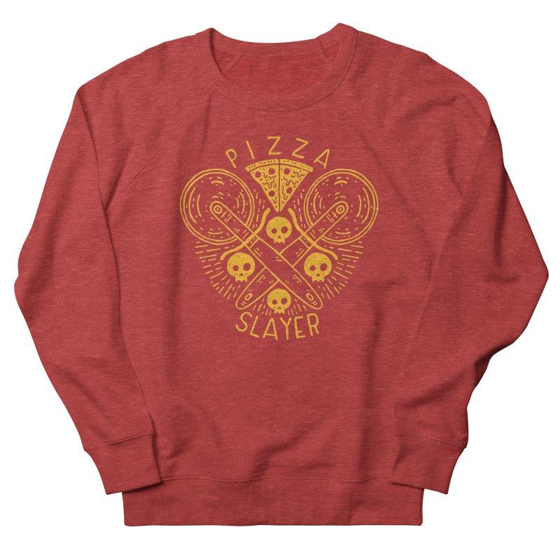 Pizza Slayer Men's Sweatshirt by Rupertbeard