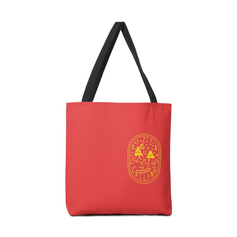 Pizza is Calling Accessories Bag by Rupertbeard