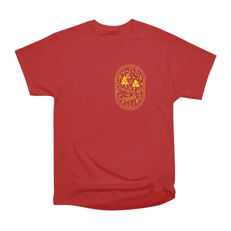Pizza is Calling Men's Classic T-Shirt by Rupertbeard