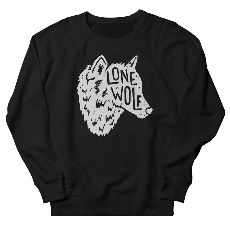 Lone Wolf Men's Sweatshirt by Rupertbeard