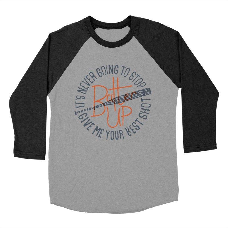 Batter Up Women's Baseball Triblend T-Shirt by Rupertbeard