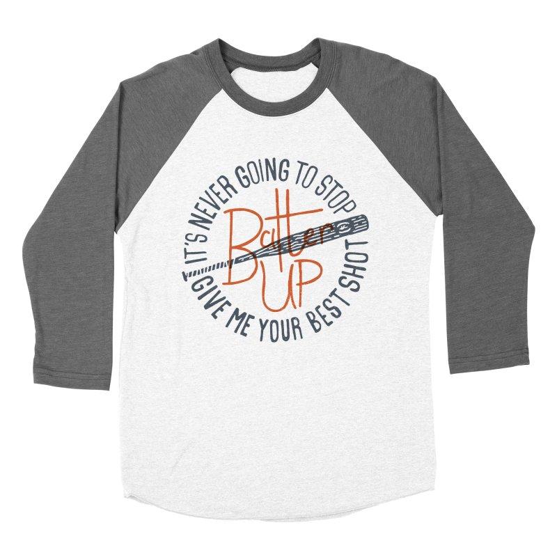 Batter Up Men's Baseball Triblend T-Shirt by Rupertbeard