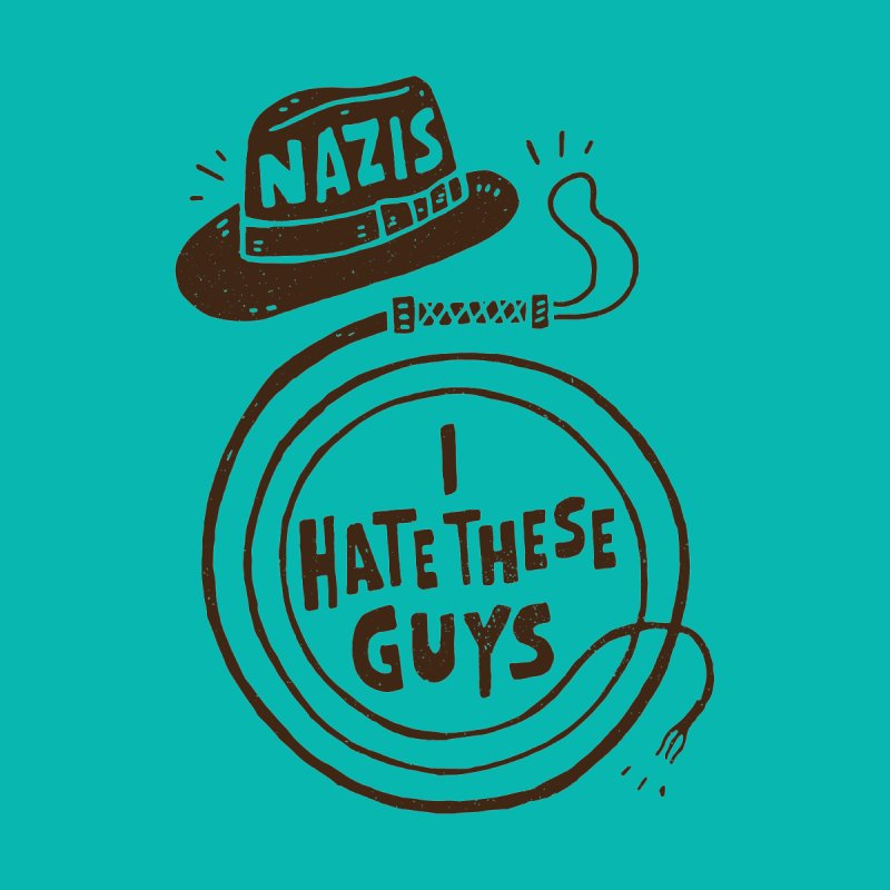 Nazis. I Hate These Guys Home Framed Fine Art Print by Rupertbeard