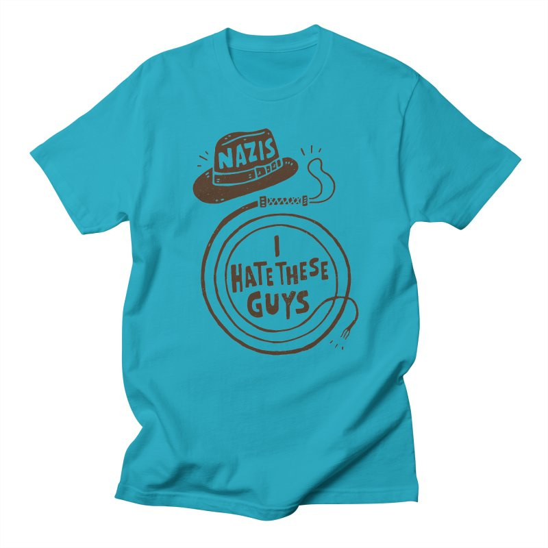 Nazis. I Hate These Guys Men's T-Shirt by Rupertbeard