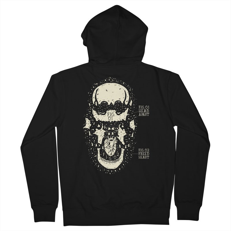 CONSERVE Men's Zip-Up Hoody by Rupertbeard