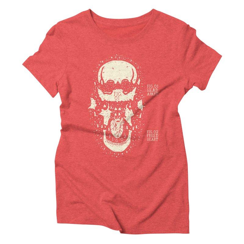 CONSERVE Women's Triblend T-shirt by Rupertbeard