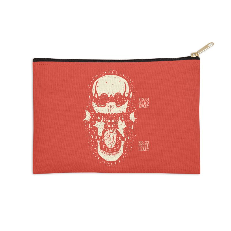 CONSERVE Accessories Zip Pouch by Rupertbeard