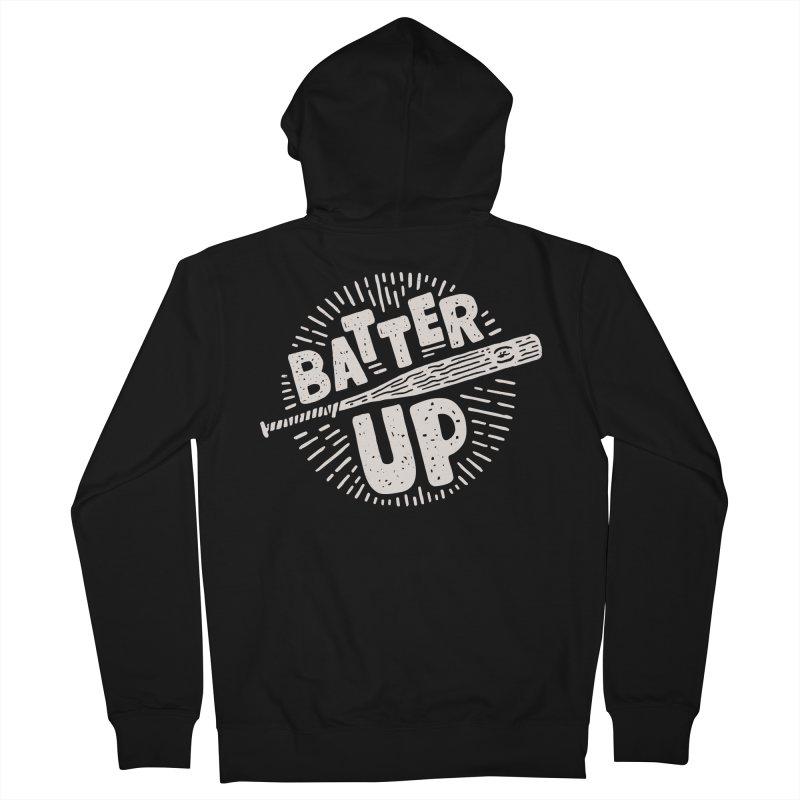Batter Up Men's Zip-Up Hoody by Rupertbeard