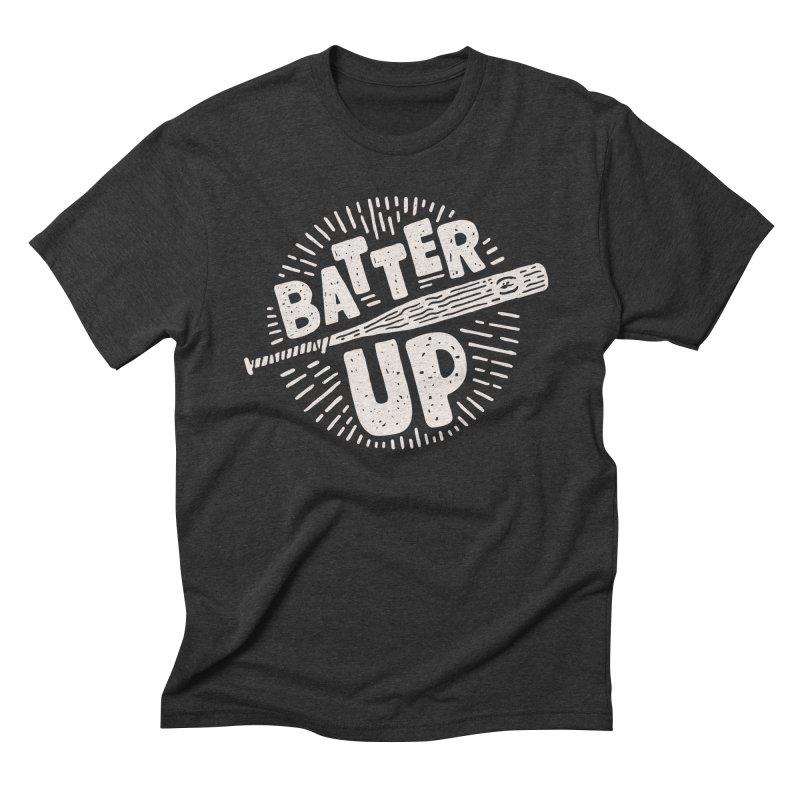 Batter Up Men's Triblend T-shirt by Rupertbeard