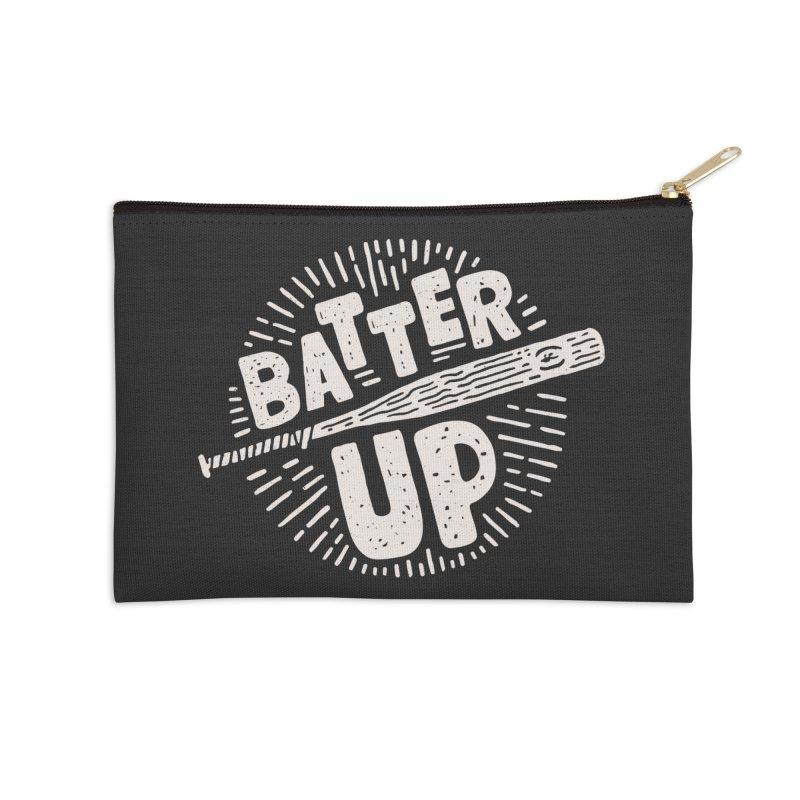 Batter Up Accessories Zip Pouch by Rupertbeard
