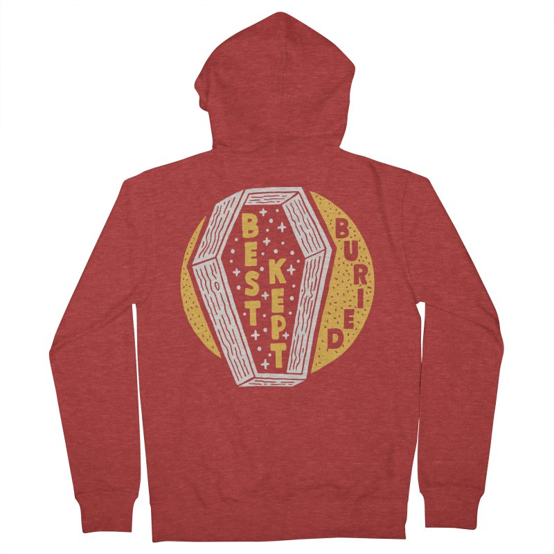 Don't Be Buried Men's Zip-Up Hoody by Rupertbeard