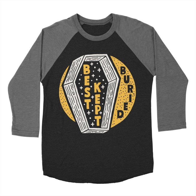 Don't Be Buried Men's Baseball Triblend T-Shirt by Rupertbeard