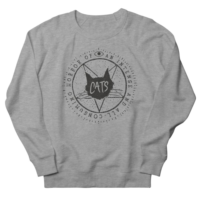 Horror Of Cats Men's Sweatshirt by Rupertbeard