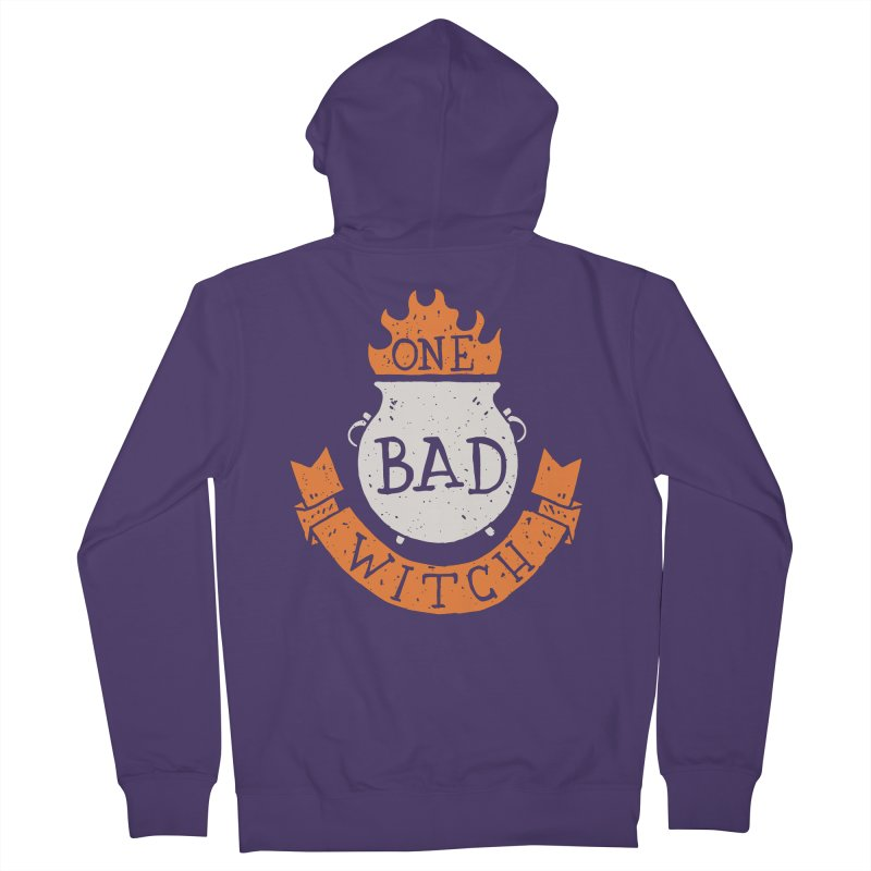 One Bad Witch Women's Zip-Up Hoody by Rupertbeard