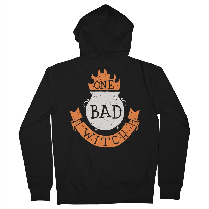 One Bad Witch Men's Zip-Up Hoody by Rupertbeard