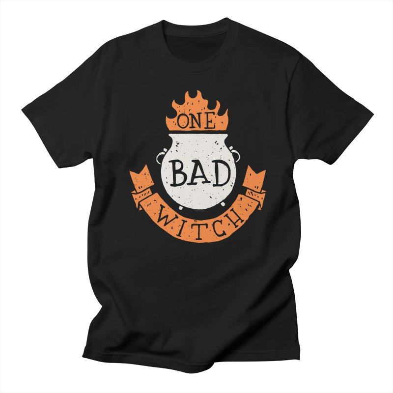 One Bad Witch Men's T-shirt by Rupertbeard