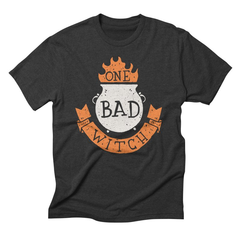 One Bad Witch Men's Triblend T-Shirt by Rupertbeard