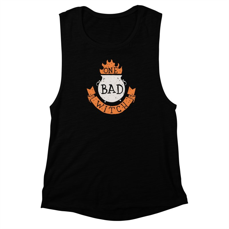 One Bad Witch Women's Muscle Tank by Rupertbeard