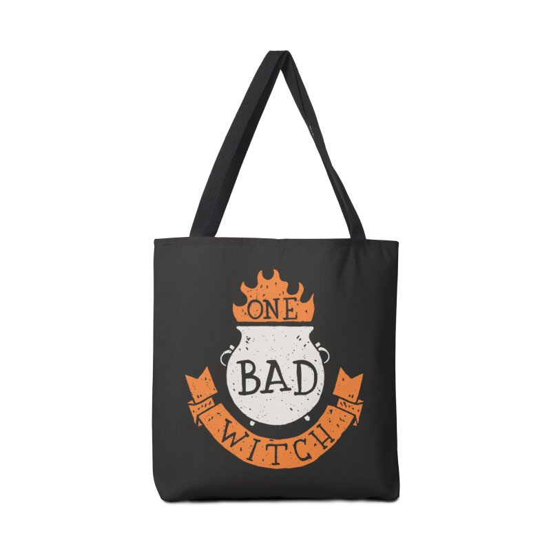 One Bad Witch Accessories Bag by Rupertbeard