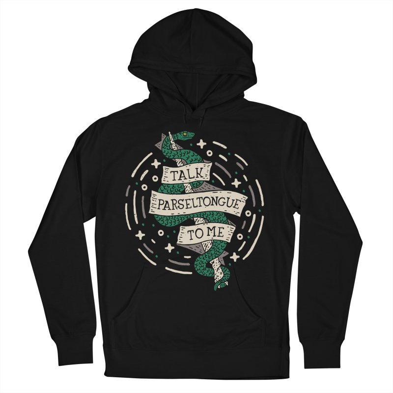 Talk Parseltongue To Me Men's Pullover Hoody by Rupertbeard