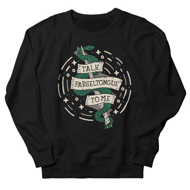 Talk Parseltongue To Me Women's Sweatshirt by Rupertbeard