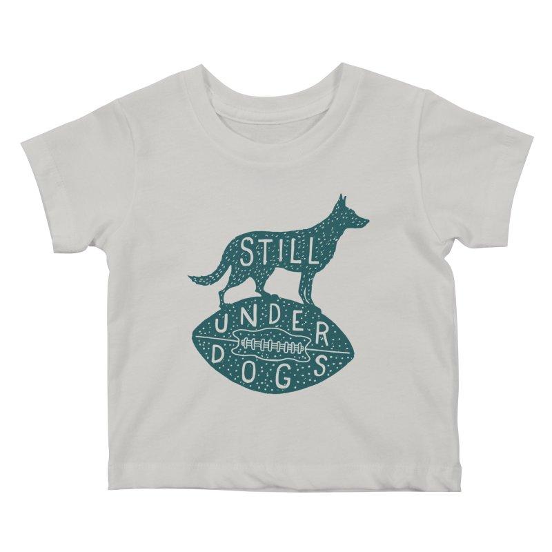 Still Underdogs Kids Baby T-Shirt by Rupertbeard