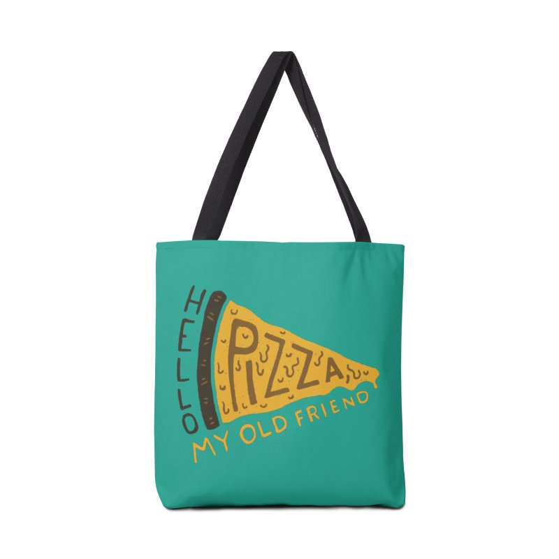 Hello Pizza, My Old Friend Accessories Bag by Rupertbeard