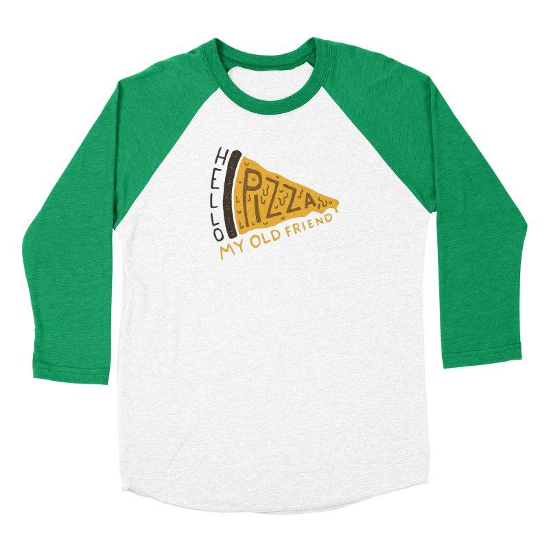 Hello Pizza, My Old Friend Men's Longsleeve T-Shirt by Rupertbeard
