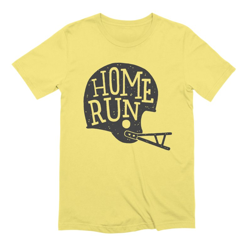 Home Run Men's Extra Soft T-Shirt by Rupertbeard