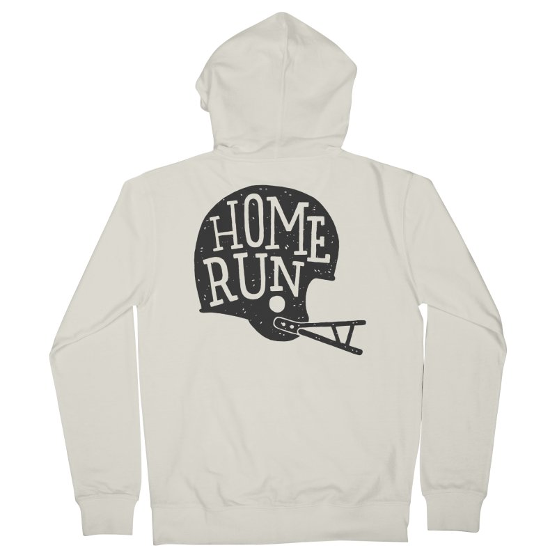 Home Run Men's Zip-Up Hoody by Rupertbeard