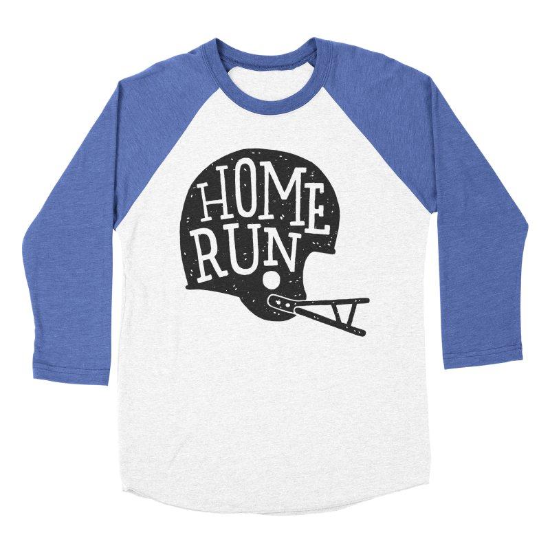 Home Run Women's Baseball Triblend T-Shirt by Rupertbeard