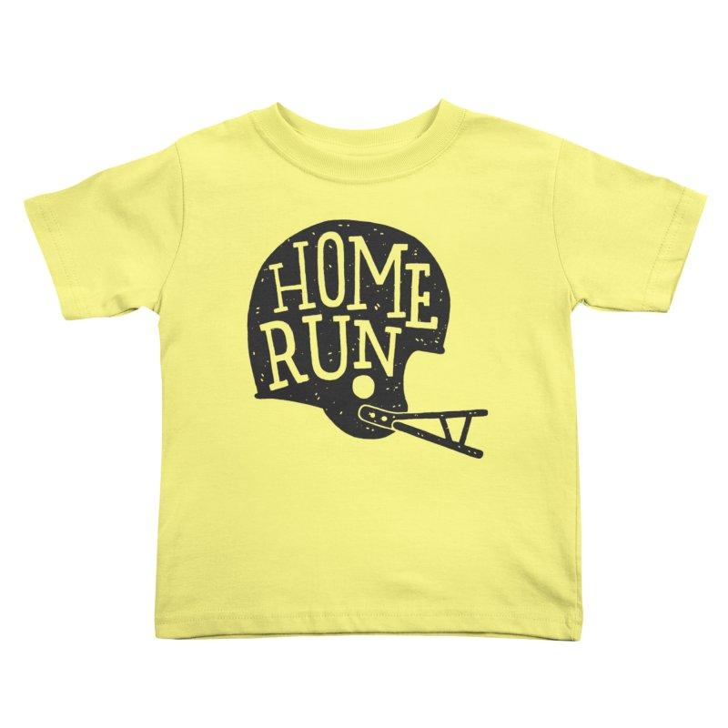 Home Run Kids Toddler T-Shirt by Rupertbeard